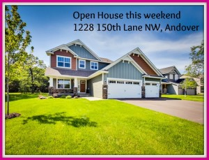 Fantastic 4 bedroom, 3 bath Two Story with Main Floor Bedroom and Upper Floor Laundry. Awesome Andover Location! Available for Purchase Now! Andover Elementary, Oakview Middle, Andover High Schools all with in 1 mile!